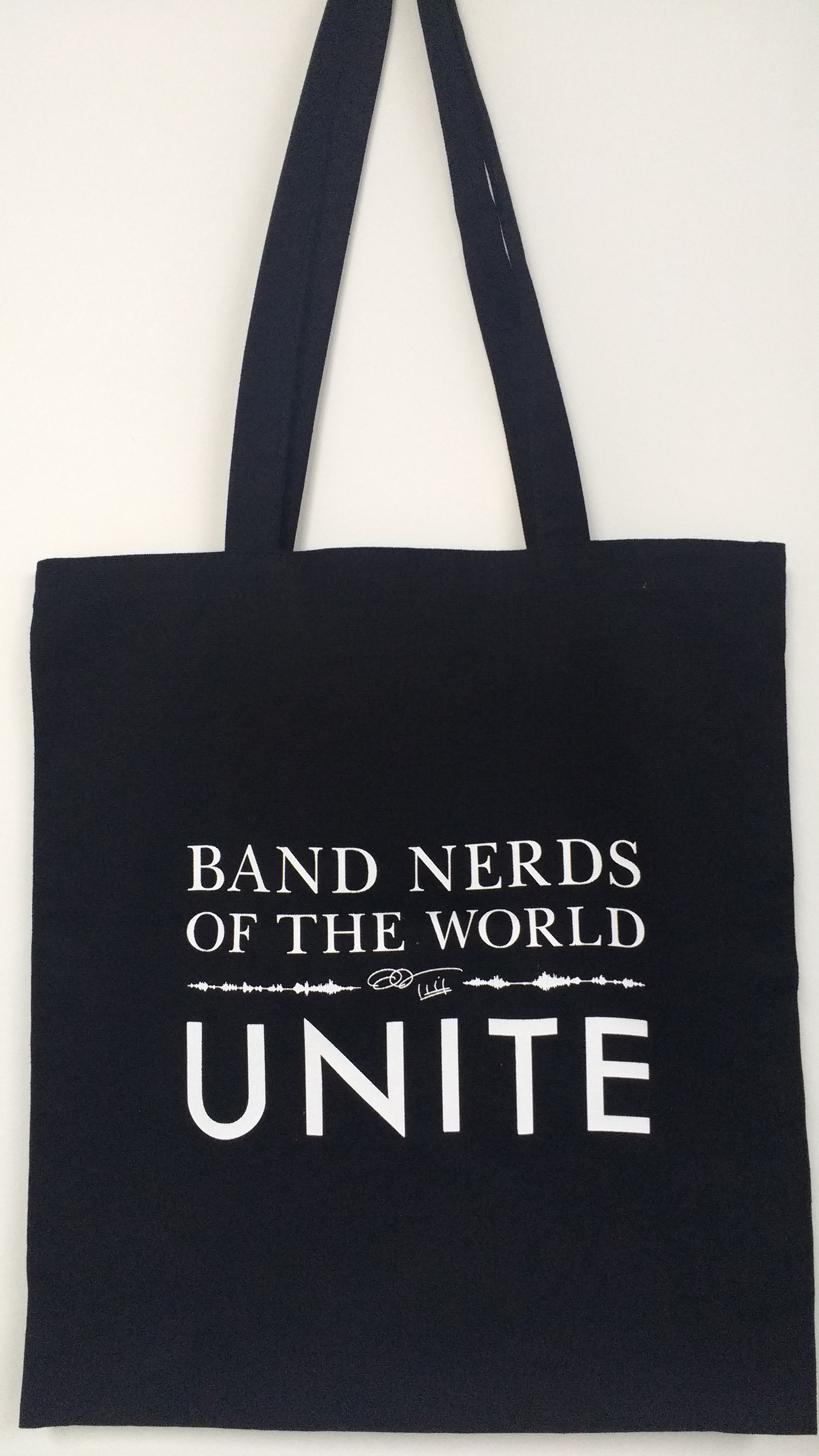 Band Nerds of the World Unite Tote Bag - Eric Whitacre