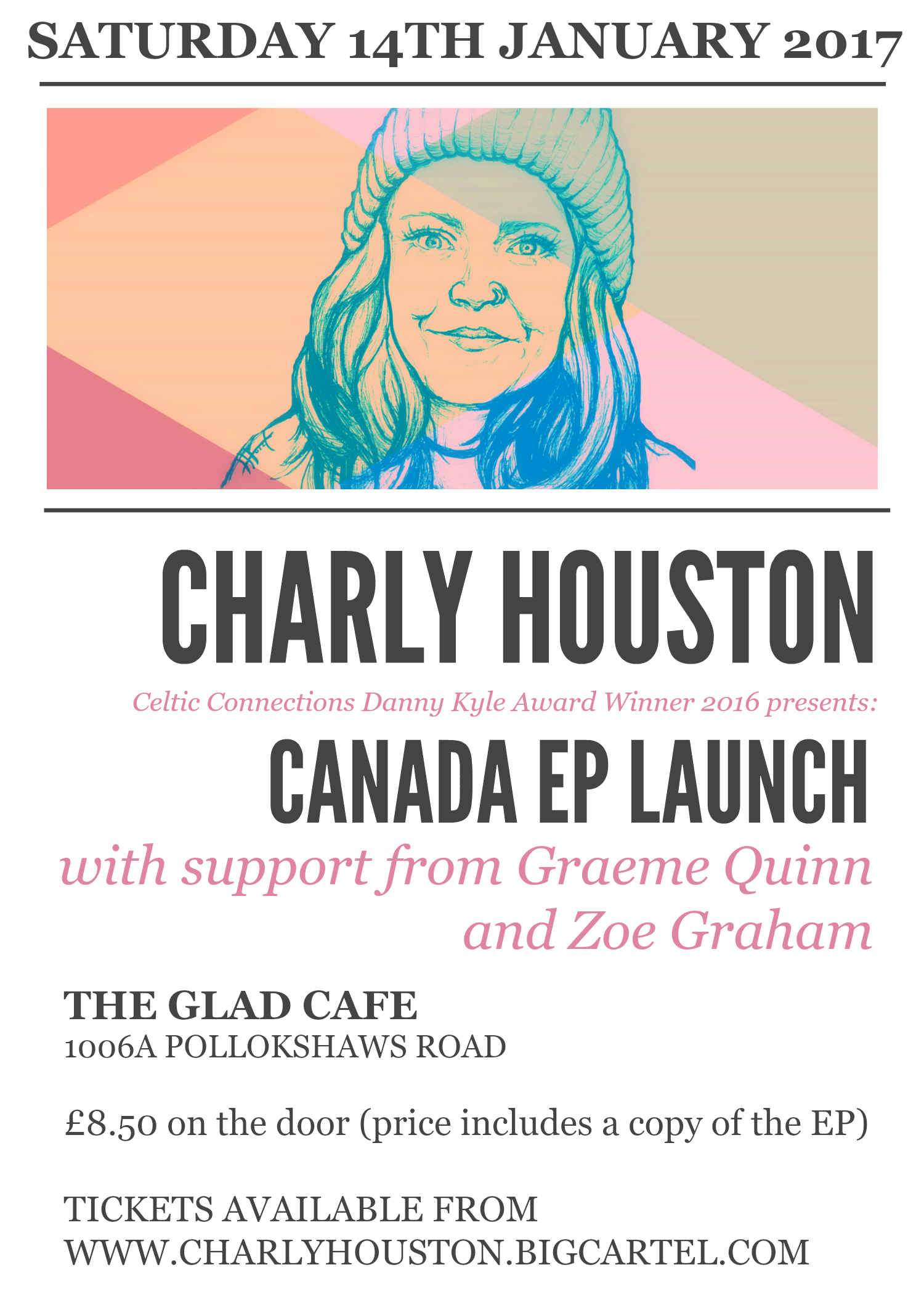 Charly Houston 'Canada' EP Launch