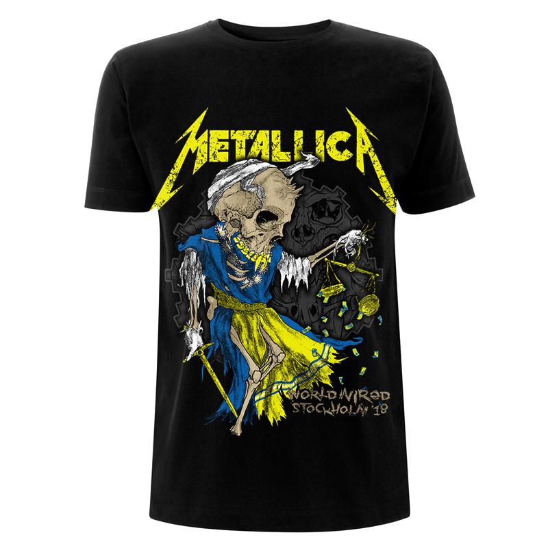 Sweden Doris - Tee - Metallica