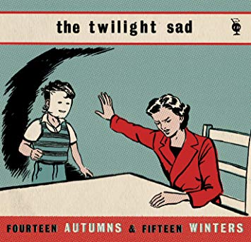 Fourteen Autumns and Fifteen Winters 2018 Red Vinyl 2018 repress - The Twilight Sad