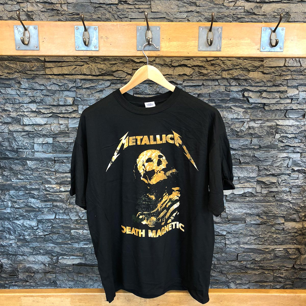 Death Magnetic Skeleton - Black Tee - Metallica