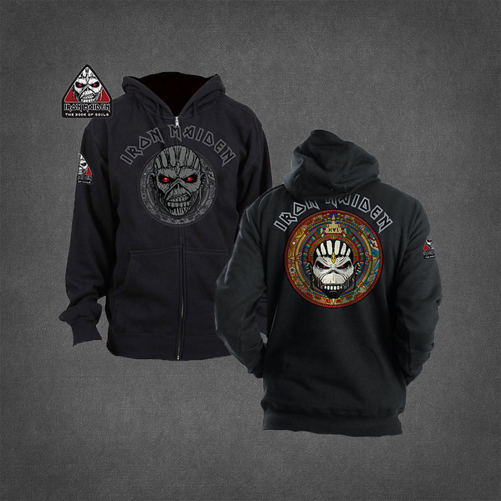 Voodoo Eddie Zip Hoodie - Iron Maiden [Global USA]