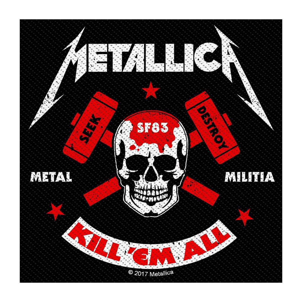Militia – Woven Patch - Metallica
