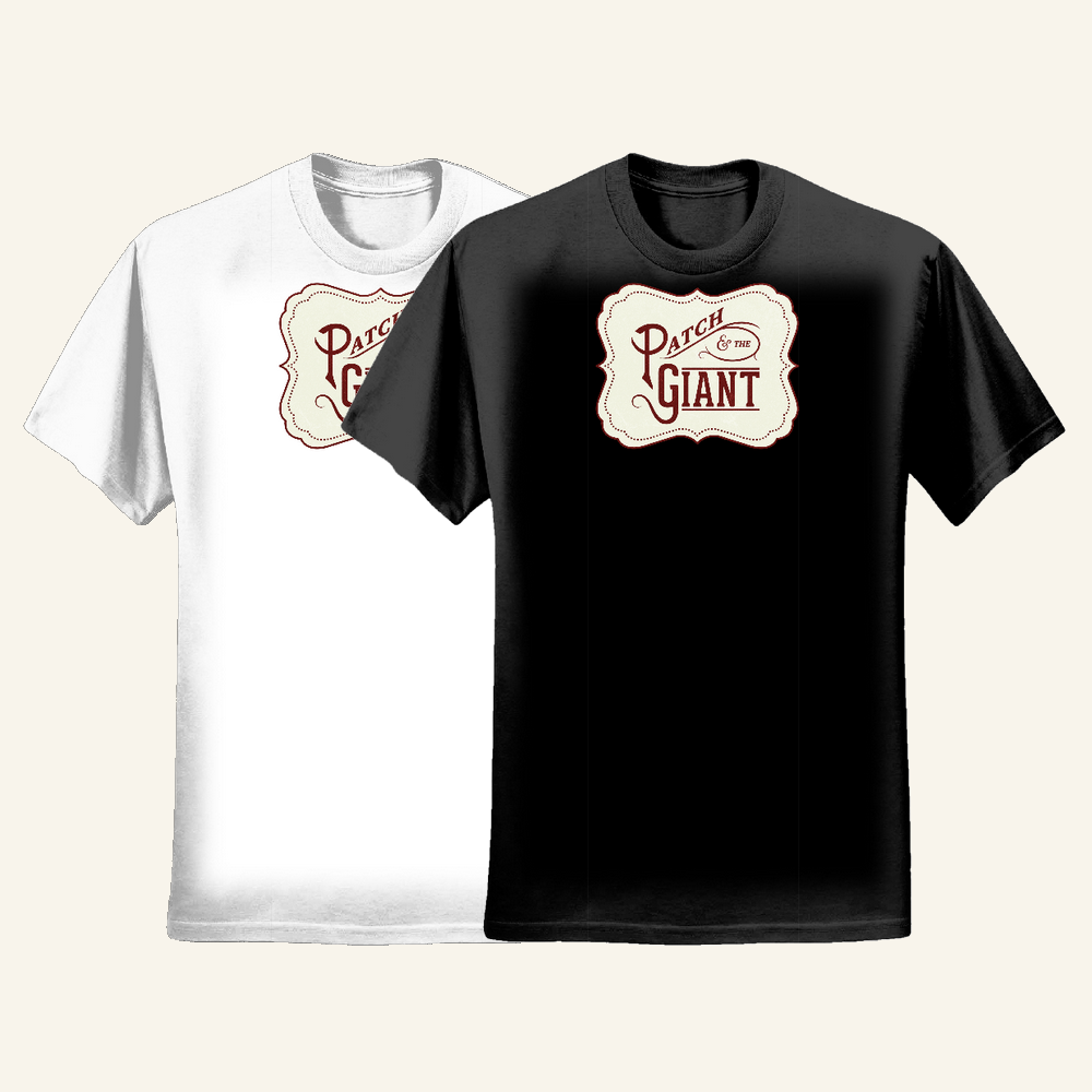Logo T-shirt (Mens) - Patch and the Giant