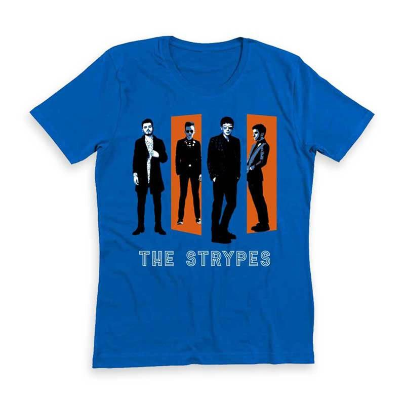Spitting Image Album Cover Blue T-Shirt - The Strypes