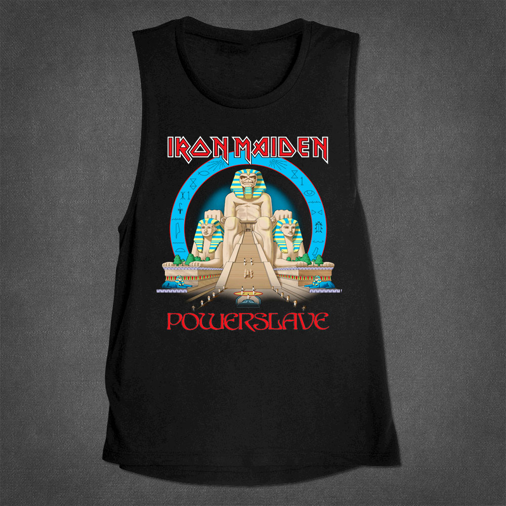 Powerslave Muscle Tank - Iron Maiden [Global USA]