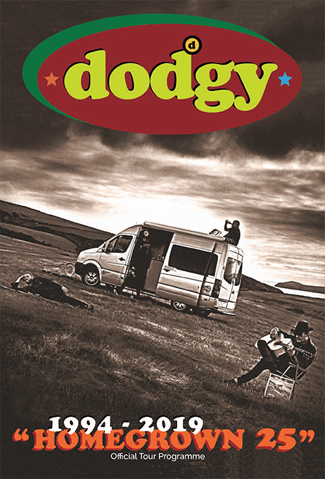 Dodgy: Homegrown 25 years tour programme - Dodgy