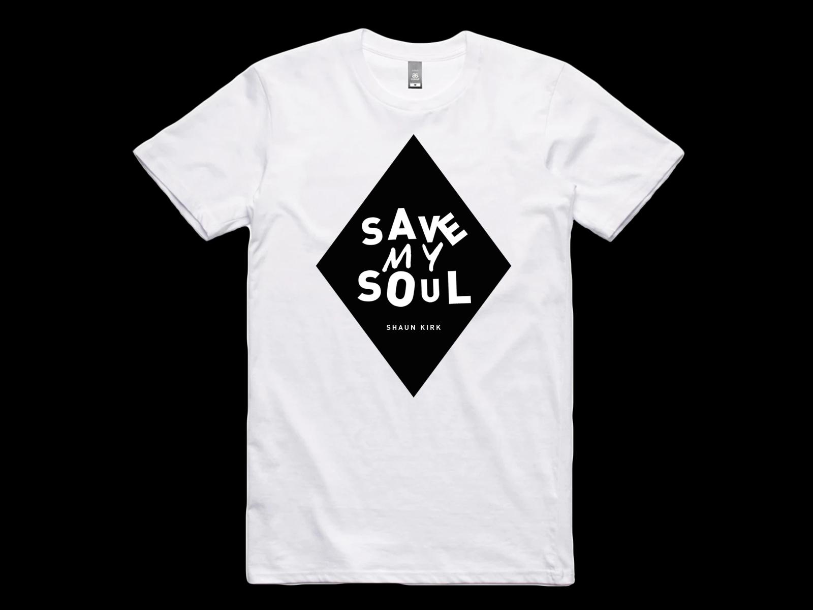 Save My Soul Diamond Tee - Shaun Kirk