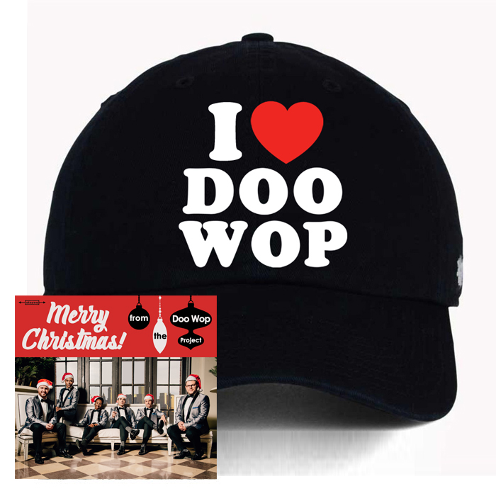 """""""Merry Christmas! from The Doo Wop Project"""" CD + Hat - The Doo Wop Project"""