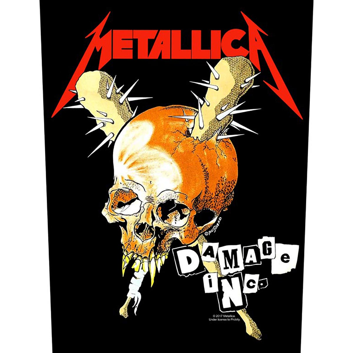 Damage Inc – Back Patch - Metallica