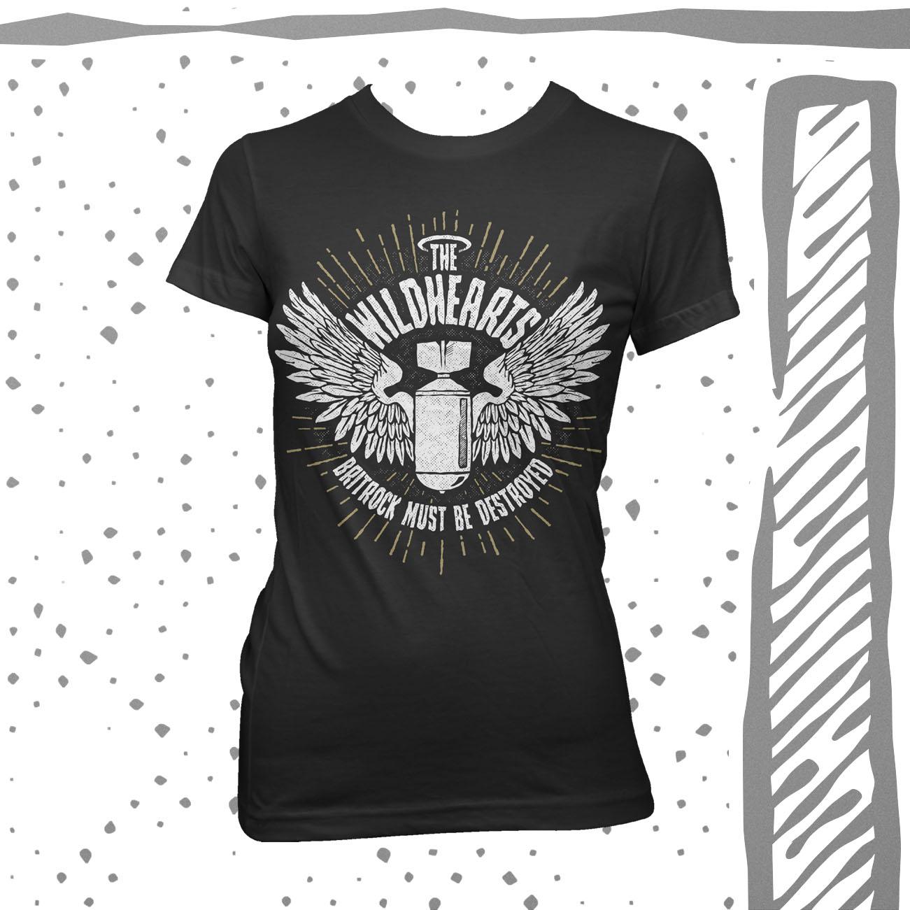 The Wildhearts - 'Bomb' Girls T-Shirt - The Wildhearts