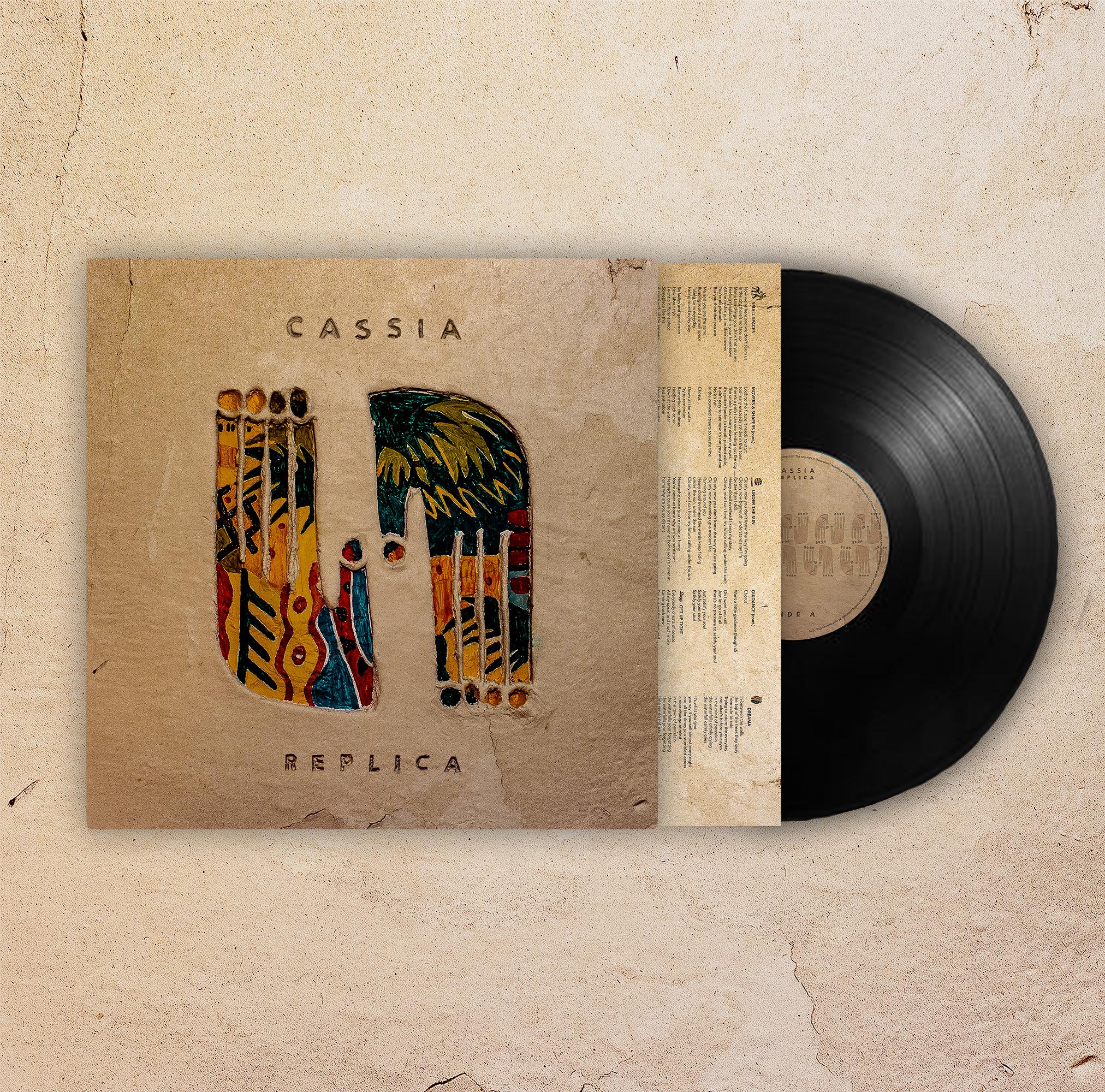 Replica - Vinyl + signed picture - Cassia