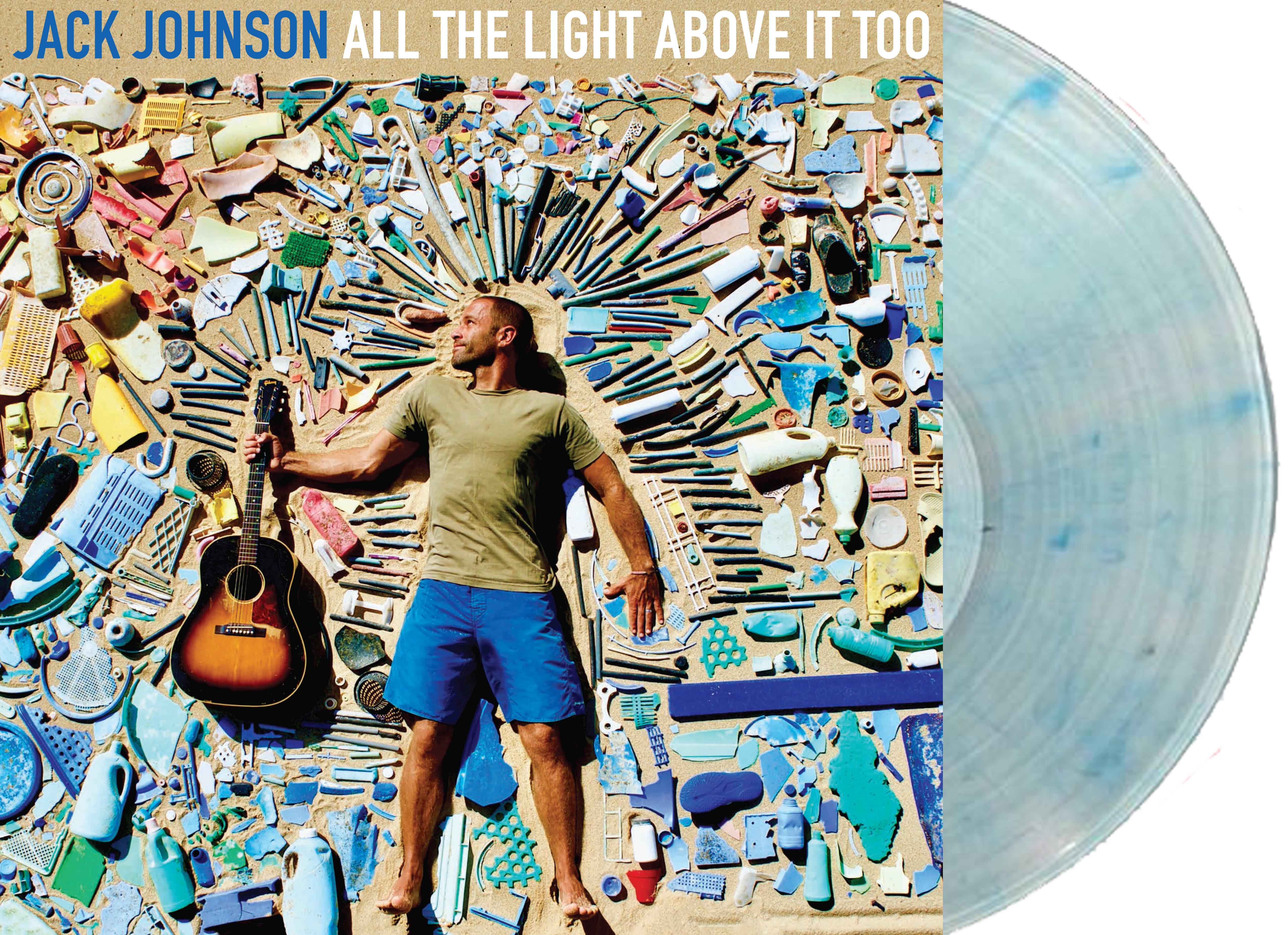 All The Light Above it Too Vinyl - Jack Johnson UK