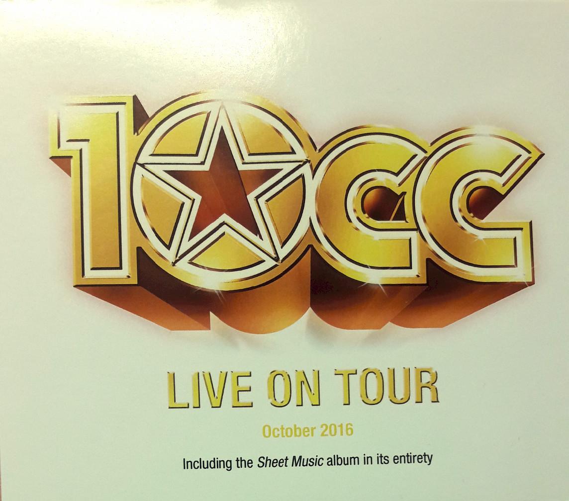Live On Tour 2016 CD - 10CC
