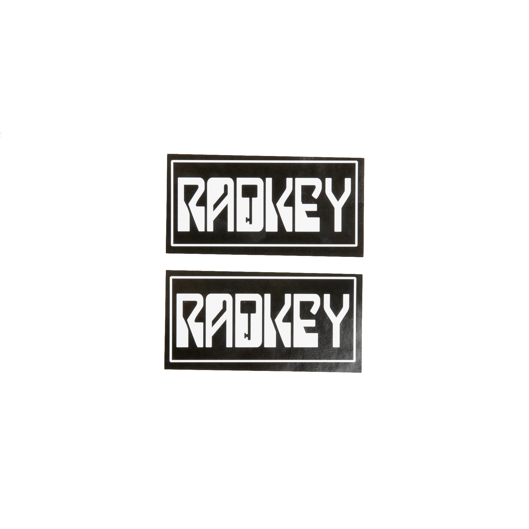 Radkey Logo Stickers (Set of 2) - Radkey