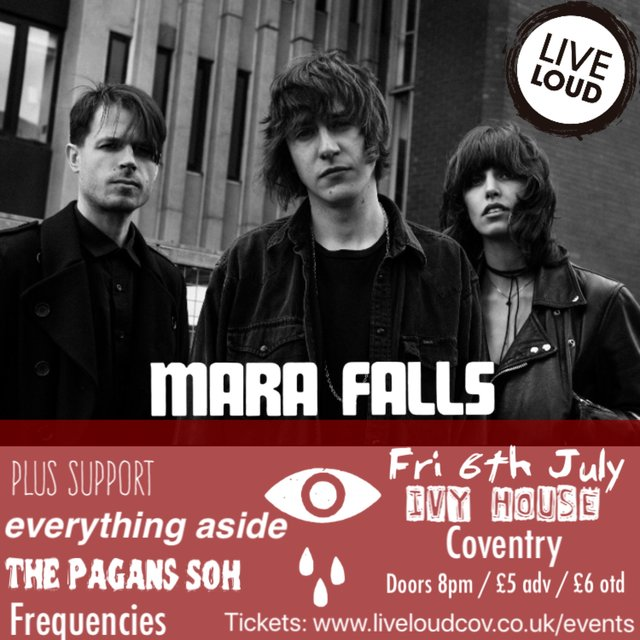 Live Loud presents Mara Falls @ Ivy House, Coventry - 06th July 2018