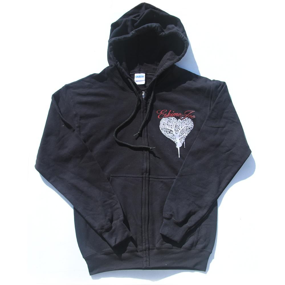 Heart - Black Hoodie - Eskimo Joe