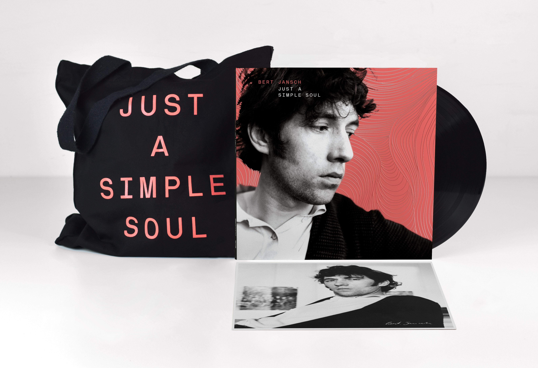 JUST A SIMPLE SOUL - 2 LP VINYL +  EXCLUSIVE LIMITED EDITION TOTE BAG - Bert Jansch MG