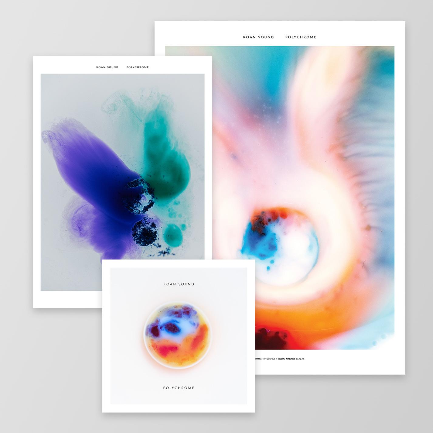 Polychrome Double LP + A2 Poster + A3 Poster - KOAN Sound USD