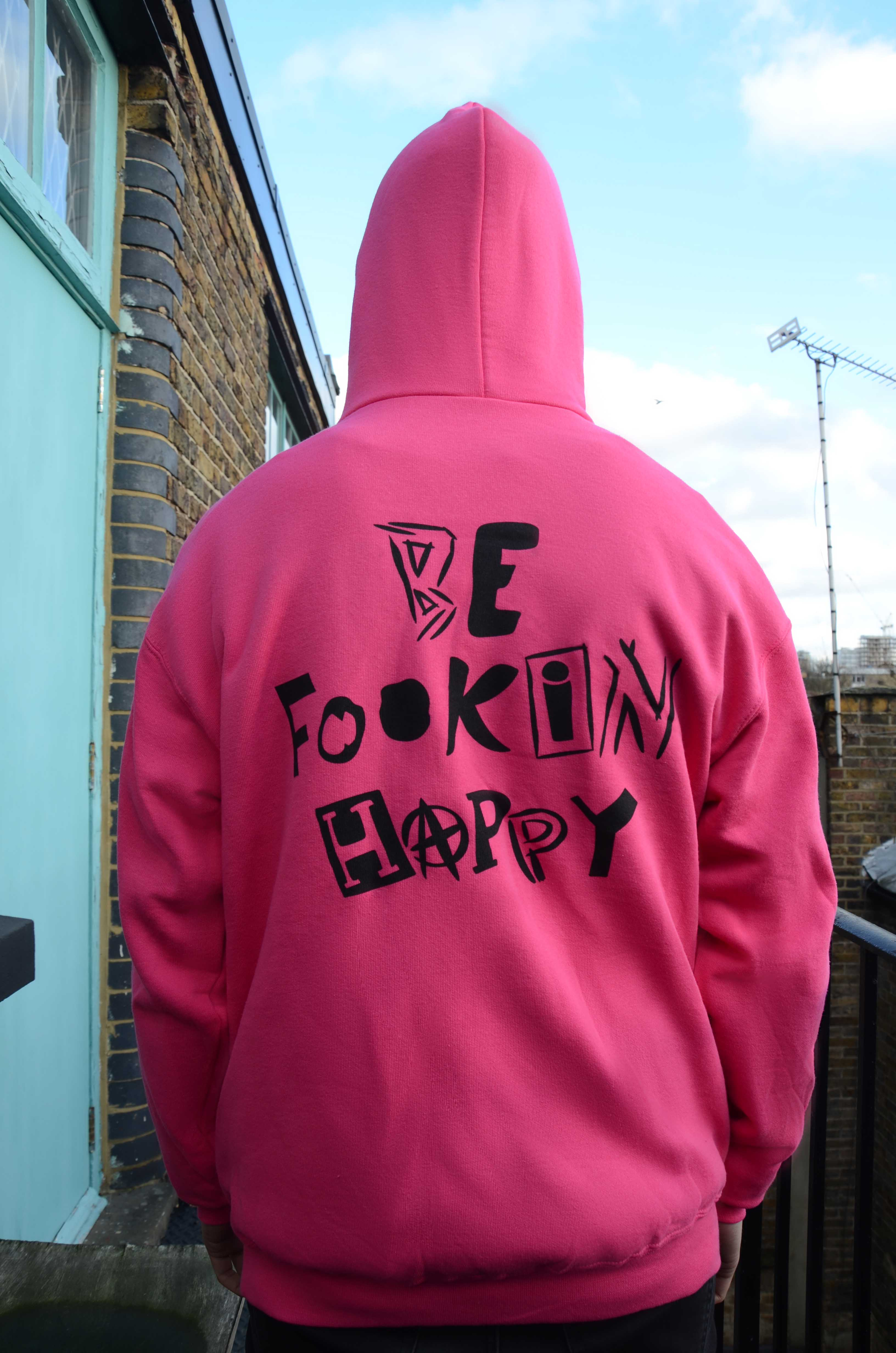 Special Fan Edition Pink Hoodie - YUNGBLUD
