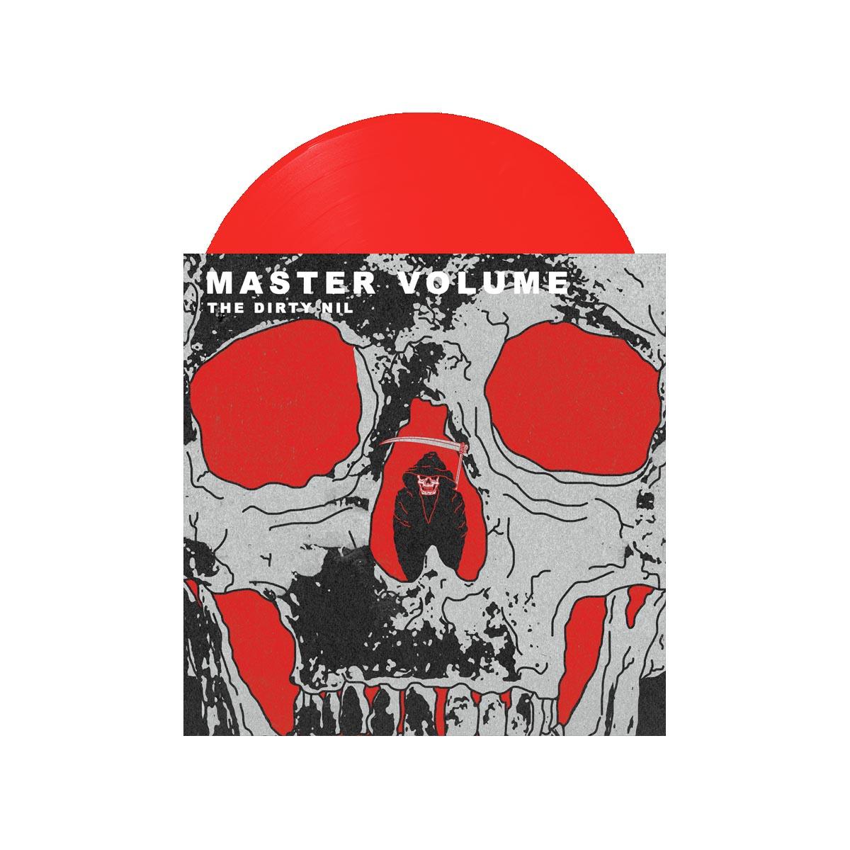 Master Volume Red Vinyl LP - The Dirty Nil