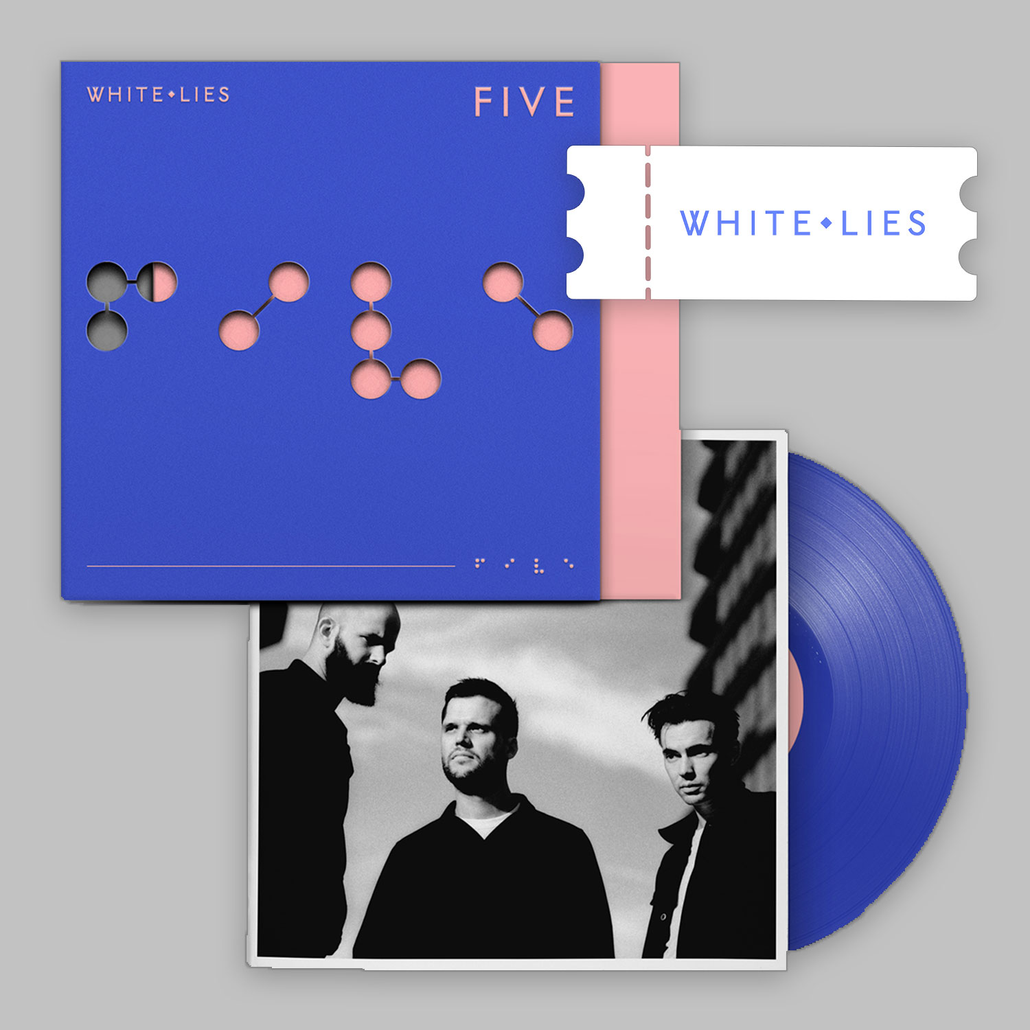 Album + Ticket Bundle - White Lies