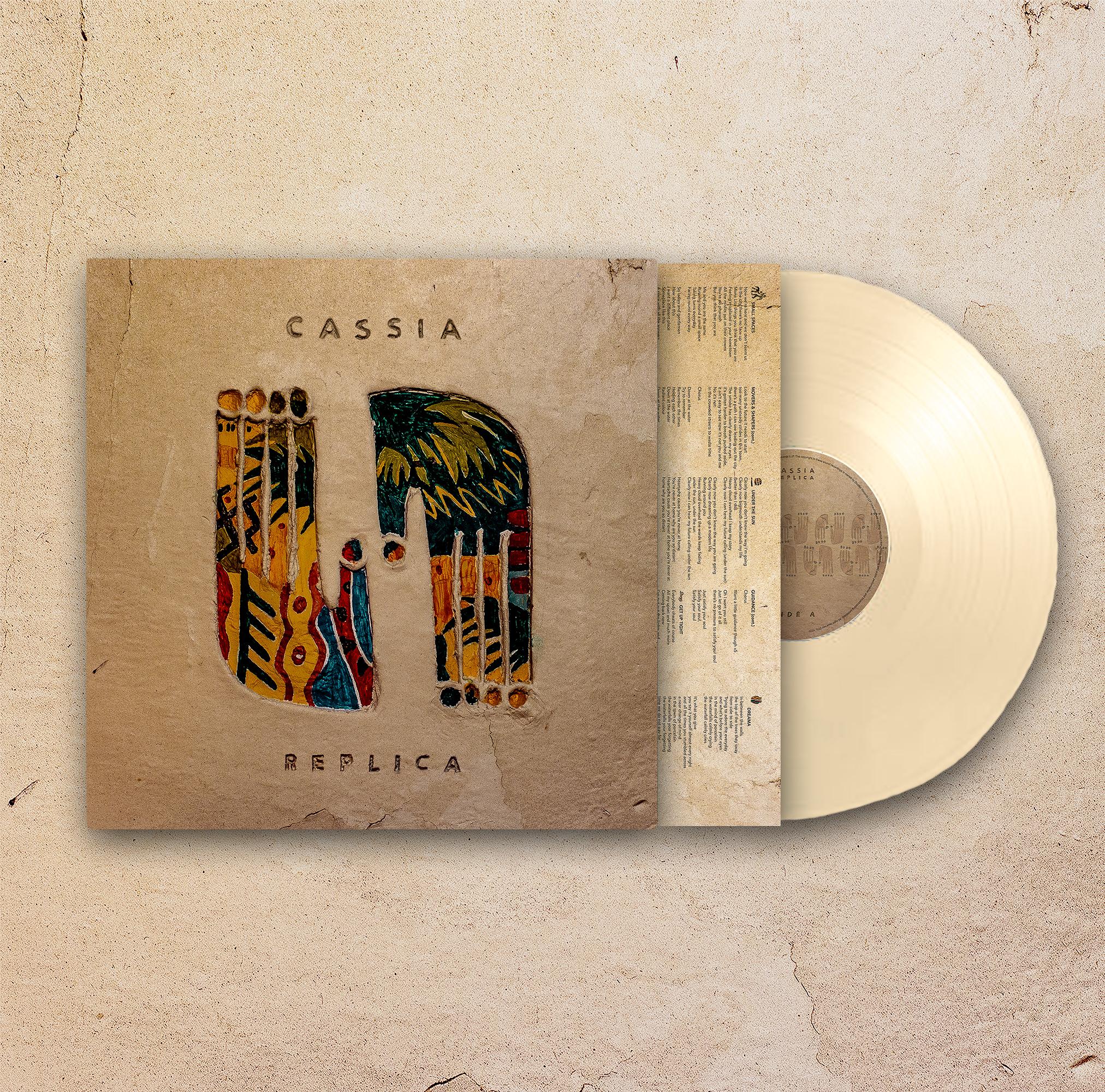 Replica Vinyl (Limited Colour Edition) + signed picture - Cassia