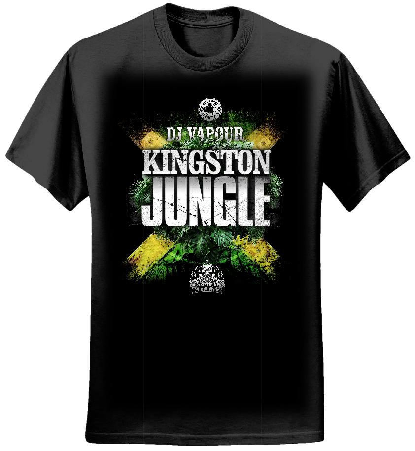 DJ VAPOUR - 'KINGSTON JUNGLE' T-SHIRT - Serial Killaz