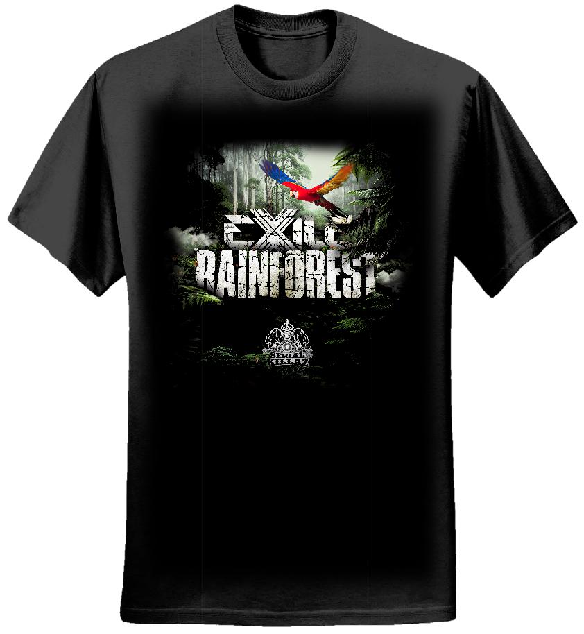 Exile 'Rainforest EP' T-shirt - Serial Killaz