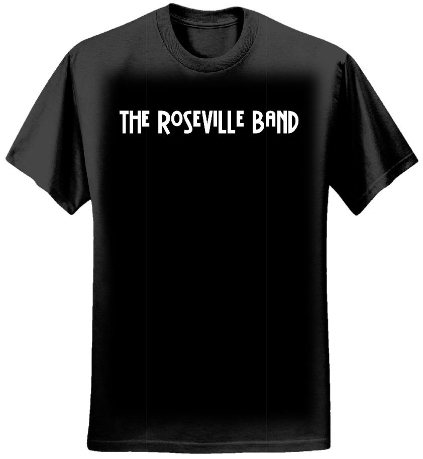 Roseville Band Black T - The Roseville Band