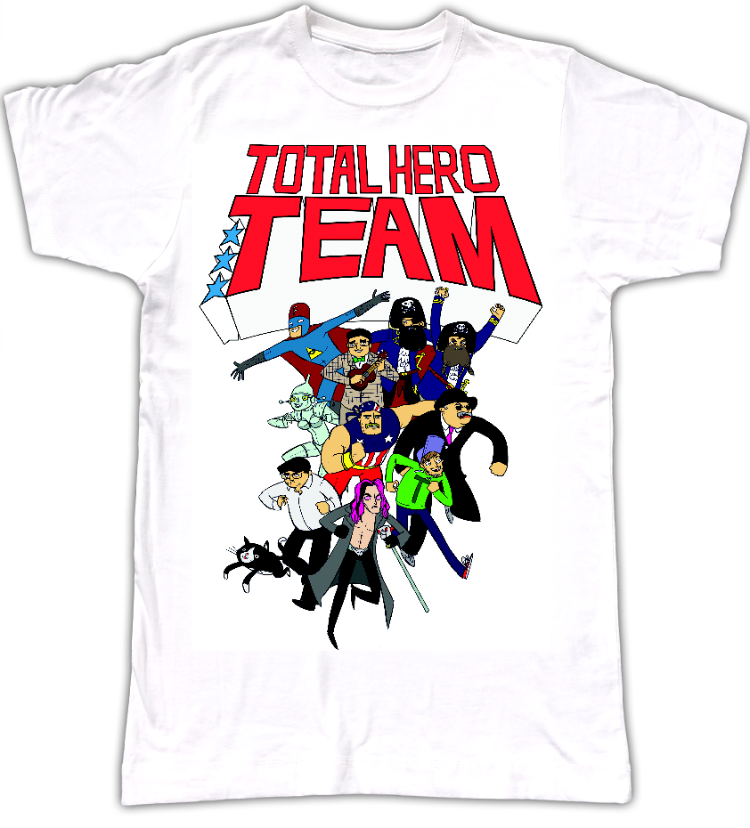 Total Hero Team T-Shirt (MEN) - MJ Hibbett