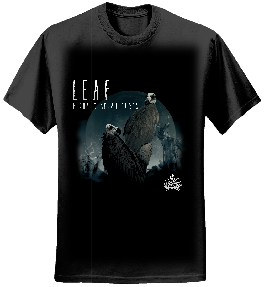 Leaf - 'Night-time Vultures' T-SHIRT - Serial Killaz