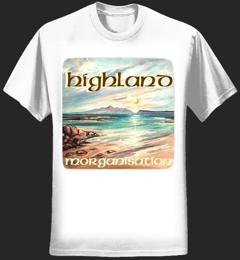 Highland T Shirt - Dave Scott-Morgan